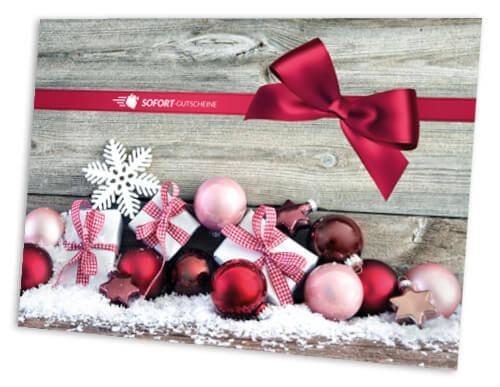 GESCHENK-Mappe Christmas