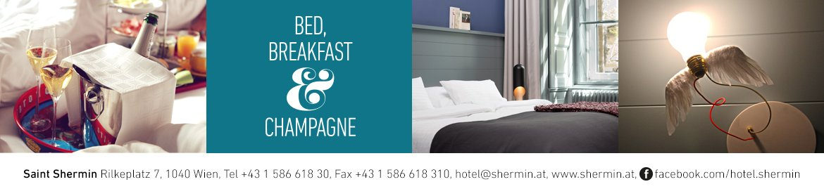 Saint Shermin bed, breakfast und champagne