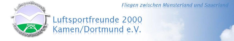 Luftsportfreunde 2000 Kamen/Dortmund e.V.