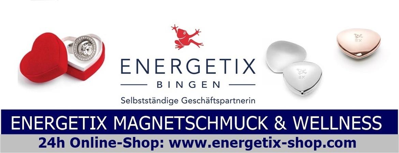 Logo ENERGETIX Magnetschmuck Geschenkgutscheine zum personalisieren