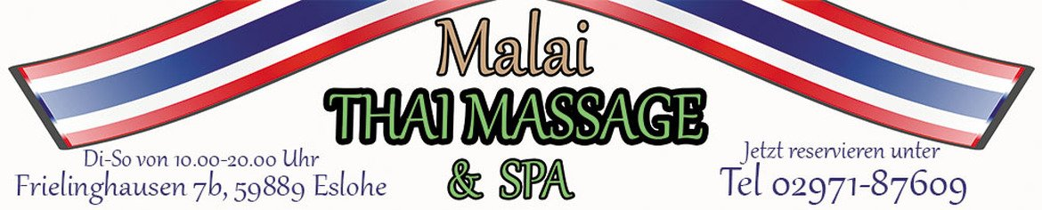 Malai Thai Massage & Spa in Eslohe